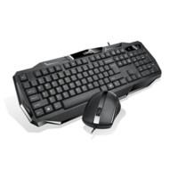 casa do mouse 3d venda por atacado-Multimedia Silencioso Wirered Teclado e Mouse Combo com Impermeável Fino 3D Ratos para TV Laptops Desktops PC Vídeo Home Office