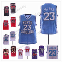 61dfda4ede0ffa NCAA 23 Michael North Carolina Tar Heels Jersey Raptors Vince 15 Carter  Atlanta  55 Dikembe Mutombo Basketball mens Jerseys Stitched