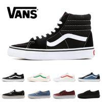 karışık boyut ayakkabıları toptan satış-vans old skool sk8 hi çocuklar ayakkabı erkek kız bebek ayakkabı tuval sneakers Çilek moda paten rahat ayakkabılar boyutu 22-35