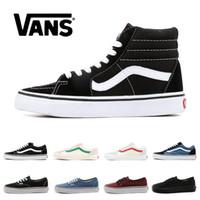 zapatos de tamaño mixto al por mayor-vans old skool  zapatos para niños, niña y bebé, zapatillas de lona, zapatillas de lona, fresa, moda, zapatos casuales, talla 22-35