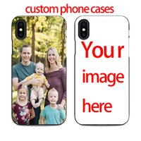 Wholesale phone case custom photo for sale – best diy custom phone case design your own for iPhone X XR plus s s se create customize case with photos best black cover