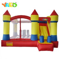 Wholesale free used toys for sale - Group buy YARD Home Use High Quality Kids Inflatable Bouncy Castle Bounce House Toys With Slide Free Blower