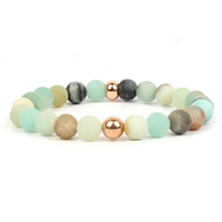 Wholesale bracelet for women blue stone for sale - Group buy Yoga jewelry adjustable bracelets for women mm bead bracelet men stone blue semi semi precious stones bracelets brazalete