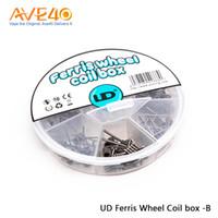 ruedas ud al por mayor-UD Ferris Wheel Coil Box-B UD Ferris Wheel Coil Box 7 en 1 42 / Paquete Bien envuelto DIY Friendly