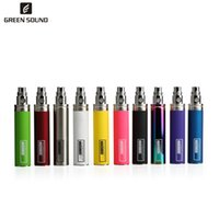 Wholesale electronic steps for sale - Group buy ego ii mah High end electronic cigarettes One step forming tech strongest GS EGO II mAh battery