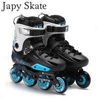 buenas zapatillas de skate al por mayor-Japy Skate Flying Eagle F3 Patines en línea Falcon Zapatos de patinaje sobre ruedas para adultos profesionales Slalom Patinaje libre Patinaje libre Bueno como
