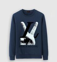 jumper hip hop toptan satış-Erkek Marka Tasarımcı Kutusu Logosu Işlemeli Hoodies Hip Hop Kazak Rahat Erkek Kapüşonlu Kazak Kış Jumper