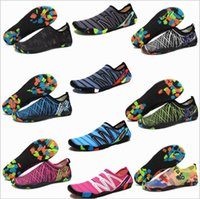 Wholesale outdoor water shoes resale online - Water Shoes Barefoot Quick Dry Aqua Socks Designer Scuba Shoes Diving Snorkeling Sneakers Surf Outdoor Beach Chaussures Swim Yoga Shoes