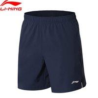forro de poliéster venta al por mayor-(Oferta de liquidación) Hombres Pantalones cortos 88% Poliéster 12% Spandex LiNing reflectante Shorts deportivos transpirables AKSN245 MKD1566