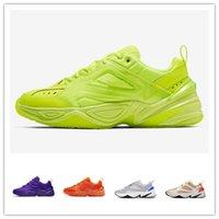erkek ayakkabıları 11 toptan satış-Buack Monarch M2K Tekno Baba Spor Koşu Ayakkabıları için En kaliteli Kadın Erkek Tasarımcı Zapatillas Spor Eğitmenler Sneakers ABD 5.5-11