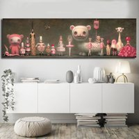 Wholesale multi picture digital frame for sale - Group buy The Whipped Cream By Mark Ryden Canvas Posters Prints Wall Art Painting Decorative Picture Modern Home Decor Framework
