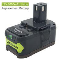 ersatz-batterien groihandel-18V 6,0 Ah Li-Ion wiederaufladbare Lithium-Werkzeug Akku mit LED-Li-ion Ersatz Li-Ionen-Akku Lithium-Batterie Lithium-Ionen-Batterie