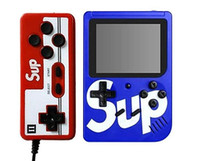 Wholesale arcade video games consoles for sale - Group buy 2019 SUP Mini Doubles Handheld Game Console Retro Portable Video Game Console Can Store Games Bit Inch Colorful LCD Cradle Design