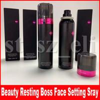 spray de beleza venda por atacado-Beleza Rosto Maquiagem Corporal Descansando Chefe Rosto À Prova D 'Água de Fixação Spray Ultra Fosco Acabamento de Longa Duração 100 ml