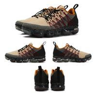 mejores zapatos para correr con descuento al por mayor-2019 Run Utility Men Running Shoes Mejor Calidad Negro Antracita Blanco Reflejo Plata Zapatos de descuento Zapatillas deportivas Tamaño US7-US11