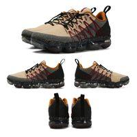 melhor desconto tênis venda por atacado-2019 Run Utility Men Running Shoes Melhor Qualidade Preto Antracite Branco Refletir Prata Sapatos de Desconto Esporte Tênis Tamanho US7-US11