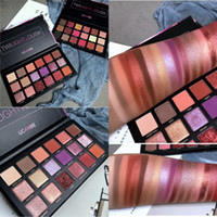 Wholesale eye makeup huda beauty for sale - Best Quality Colors Eyeshadow Palette Smoky Nude Pigment Matte Glitter Shimmer Eye Shadow Pallette Makeup Smooth HUDA Shadows for beauty