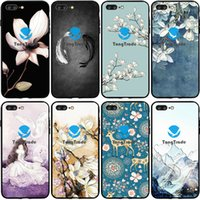 Wholesale huawei silicone 3d online – custom TongTrade Soft Silicone TPU Case For iPhone X XS Pro Max s p s p Huawei Y9s Y6s Mate P30 P20 D Matte Frosted Relief Case