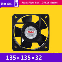 Wholesale ac machines resale online - 220V AC A W RPM Cooling Radiator Axial Fan FZY2 S Ventilation and Air Change FZY for Welding Machine CNC lathe