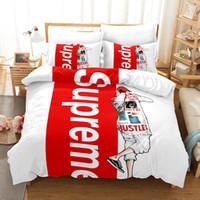 3d yorgan takımları toptan satış-3d yatak orijinal moda sokak moda sınır ötesi 3 parça suit yeni dış ticaret kraliçe Yatak Nevresim Takımları tasarımcı yatak setleri Yorgan