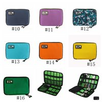 Wholesale electronics accessories bag for sale - Group buy Cable Organizer Bag Outdoor Travel Electronic Accessories Bags Hard Drive Earphone USB Flash Drives Case Storage Bags GGA2665