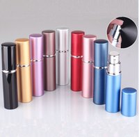 Wholesale cosmetic spray packaging for sale - Group buy 5ml Mini Perfume Spray Bottle Portable Refillable Atomizer Empty Bottles Essential Oils Diffusers Home Fragrances For Cosmetic HH9