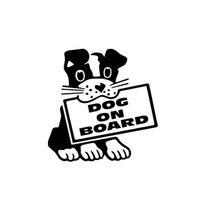 Wholesale black car stick resale online - Dog on board puppy pet lovely cute style car stick ca521