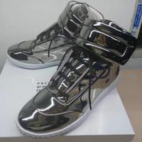 Designer di marca Maison Martin Margiela Scarpa casual Scarpe in vera pelle di moda Scarpe alte Pantaloni rossi Sneakers uomo con scatola