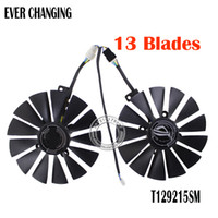 Wholesale graphics video card cooling fan for sale - Fans amp Cooling T129215SM DC12V AMP Graphics Video Card Cooler Fan FOR ASUS STRIX RX570 G GAMINGGraphics Card Cooling Fan