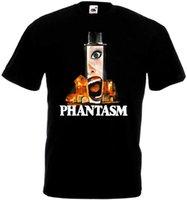 heiße orange rosa hemden großhandel-Phantasm v1 T-Shirt schwarzes Poster alle Größen ... 5XL Größe Discout Hot New Tshirt Suit Hat Pink T-Shirt