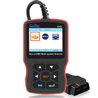 códigos de diagnóstico mercedes venda por atacado-C502 Leitor de Código OBD2 Ferramenta De Diagnóstico Profissional Completo-System Scanner para Mercedes Benz W211 W210 C200 W203 W204