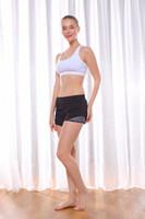 yoga spor salonu şortları toptan satış-Yoga spor kısa lulu Gym koşuyoruz şort 4-way streç kumaş egzersiz egzersiz eğitimi şort boyutu us2-us12 ücretsiz kargo