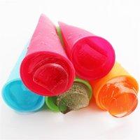ingrosso spingere il ghiaccio-Stampo per pop ice in silicone lungo 20 cm Gelato push-up in gelatina per popcorn in silicone