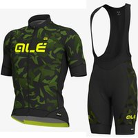 Wholesale ale cycling set for sale - Group buy Pro team ALE New cycling jersey set mens bicycle maillot MTB Racing ropa Ciclismo summer quick dry bike D GEL pad bib shorts