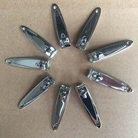 pregos preço de fábrica venda por atacado-Preço de fábrica 5000 pçs / lote Aço Inoxidável Cortador de Unhas Cutter Trimmer Manicure Pedicure Cuidados Tesoura Ferramentas de Unhas