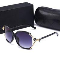 diseñadores de gafas de sol de gran tamaño al por mayor-Casual New Style Camellia Eyewear Designer Brand Oversized Sun Glasses Fashion Travel Womens Designer Sunglasses Des Lunettes De Soleil