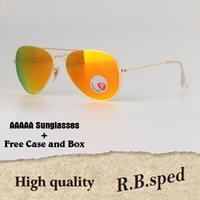 9c0ab02b44 plástico polarizado al por mayor-Gafas de sol polarizadas Hombres Mujeres  Marca diseñador montura metálica