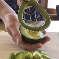 ingrosso bar dadi-Avocado Slicer Cuber Strumento Melone Cutter Dice Tool Cubo Avocado con facilità Bar Utensili da cucina