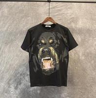 t-shirt marques célèbres achat en gros de-2019 Nouveau Célèbre Nouveau Mode Rottweiler Gog Tee Marque T chemises Pour Hommes Femmes Coton Haute Qualité Livraison Gratuite