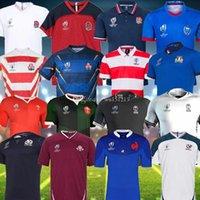 englisches trikot großhandel-2019 fiji Rugby Trikot neuen Zealand Shirt 19 20 Japan-Weltmeisterschaft Südafrika Frankreich Wales Englisch Samoa Rugby Jersey s-3xl