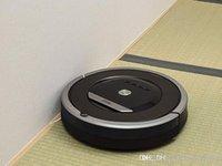 robô cinzento venda por atacado-Top Irobot Brand Gray Autêntico Robô Roomba 870 Aspirador de Pó Automático On Sale