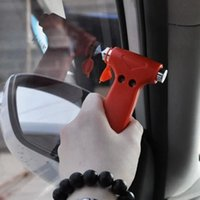 Wholesale rescue strap for sale - Group buy Express Wholesle Car Safety Hammer Life Saving Escape Rescue Automotive Emergency Hammer Belt Cutter Window Breaker