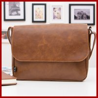 Wholesale mens brown leather shoulder bag for sale - Group buy New Fashion Genuine Leather Bag Men Messenger Bags Shoulder Bags Bolsas Leather Casual Briefcase Mens Travel Bags
