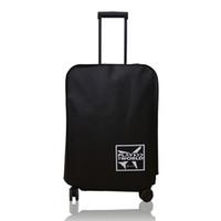 capas de maleta impermeáveis venda por atacado-À prova de poeira-À Prova D 'Água de Viagem Tampa de Bagagem Ao Ar Livre de Proteção Não-tecido Anti-risco Espessamento Mala Acessórios