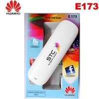 Wholesale huawei usb modem dongle for sale - Group buy Original unlocked Huawei E173 M Hsdpa USB G Modem dongle stick UMTS WCDMA MHz