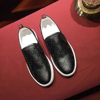 estilos preguiçosos venda por atacado-homens de estilo britânico e mulheres conjunto preto de calçados casuais de negócios tênis de moda masculina sapatos preguiçosos dos homens