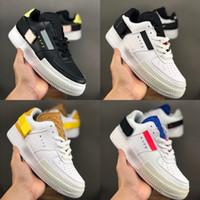 2019 Nouveau Nike Air Force 1s Type N.354 Utility 1 Classique Noir Blanc Hommes Femmes Chaussures de course Orange Skate Low Cut Air Trainers Designer