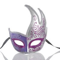 Wholesale most halloween costumes for sale - Group buy Women Costume Mask Masquerade Mask Halloween Mardi Gras Cosplay Party Masque One Size Fit Most Colour Select HY