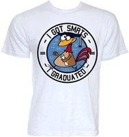 graduierungst-shirts großhandel-HERREN FUNNY COOL NOVELTY UNIVERSITY UNI Abschluss-graduierte JOKE T-Shirts Geschenke Sommer-Baumwoll-T-Shirt Mode-Spitze T