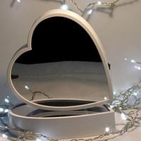 ingrosso matrimonio lampada notturna-LED lampada specchio casa festa di nozze decorativi 3D benevolenza specchio tunnel scatola luminosa per il regalo LED lampada specchio casa festa di nozze luce di notte